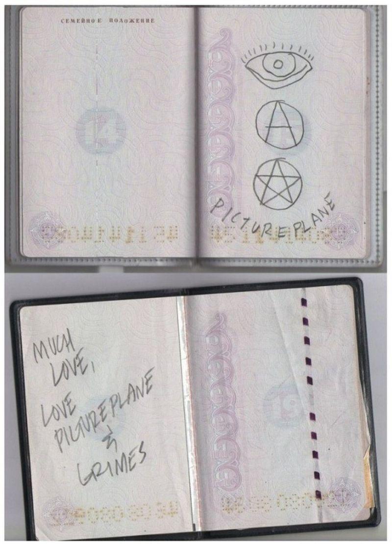 Художества в паспортах от детворы и отбитых шутников Приколы