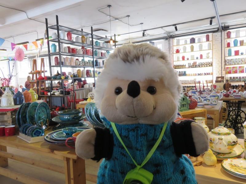 Ёжик в гончарной мастерской Москва
