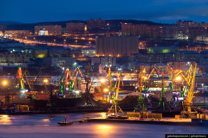 Мурманск с высоты: столица Заполярья и город моряков события, Новости