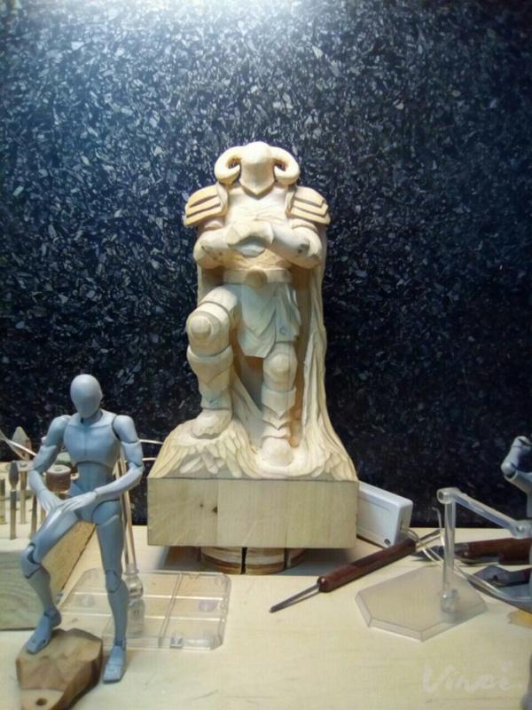 Создание фигурки из дерева в стиле фентези своими руками, поделки, фигуры из дерева