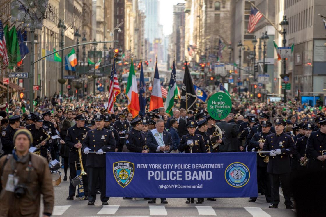 День Святого Патрика в Нью-Йорке праздник, фестиваль