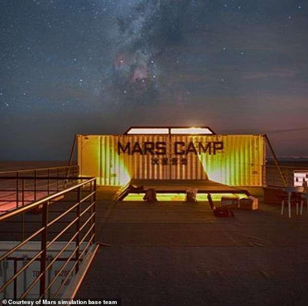 Китай построил в пустыне марсианскую базу Интересное