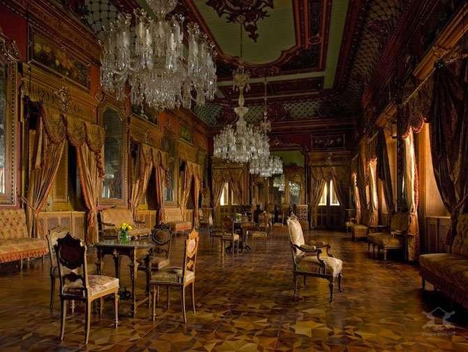 Индийская роскошь в сказочном дворце Интересное
