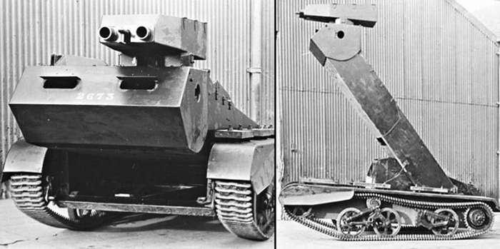Топ-5 самых шизоидных британских бронемонстров Второй мировой   Интересное