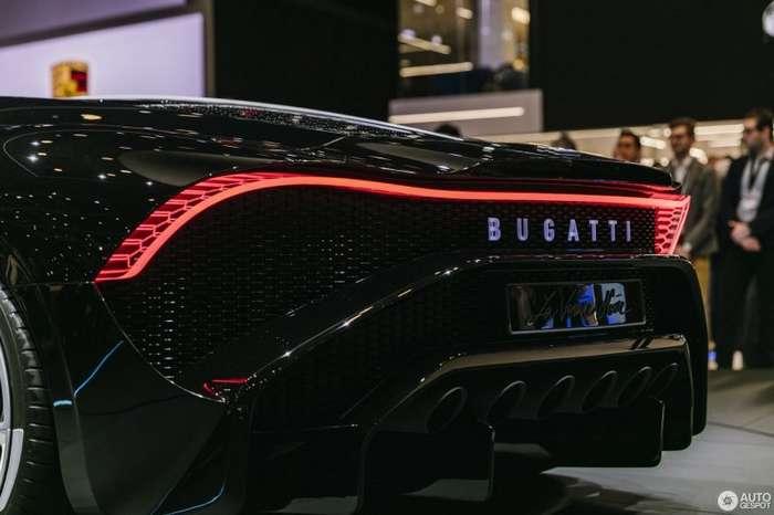 La Voiture Noire: самый дорогой автомобиль Bugatti в мире   авто