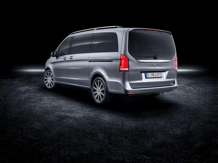Mercedes-Benz EQV Concept: люксовый минивэн с электродвигателем авто