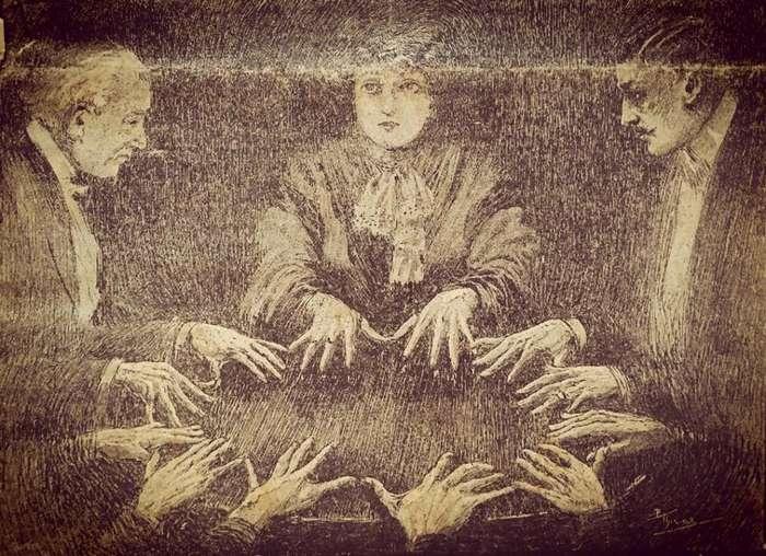 Немного о спиритизме: доска Уиджа не всегда считалась зловещей Интересное