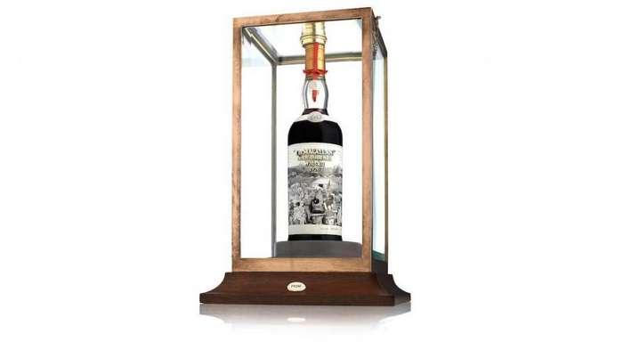 Виски с уникальной этикеткой собираются продать на аукционе за миллион долларов Интересное
