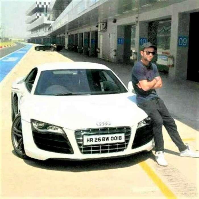Конфискованный Audi R8 оставили умирать за пределами полицейского участка в Индии авто