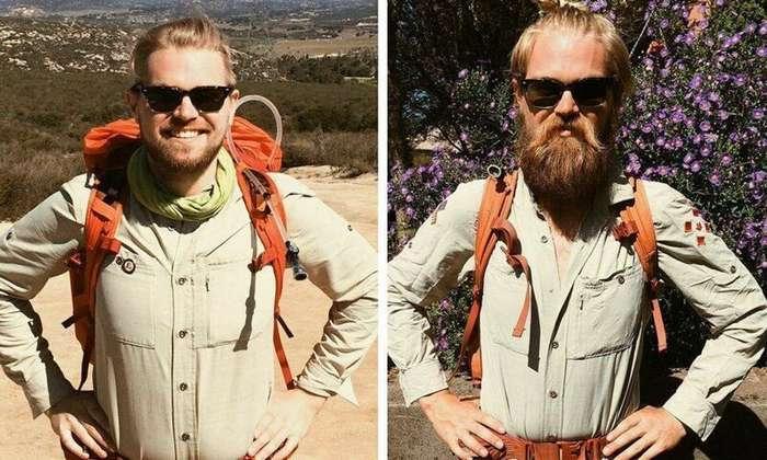 20 фотографий из серии «до и после», которые доказывают, что всё познаётся в сравнении Интересное