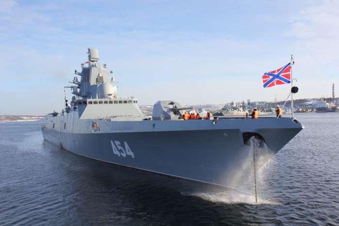 «Адмирал Горшков»: на что способен самый совершенный фрегат ВМФ России Интересное