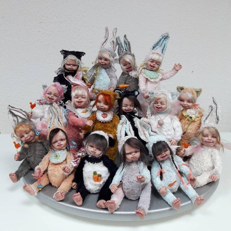 Эти куклы из Архангельска прославились на весь мир! куклы