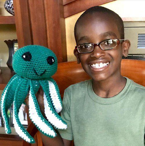 Вязание от 11-летнего мальчика вязание