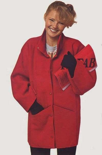 Пальто из одного отрезка ткани: выкройка и необычный результат женские хобби