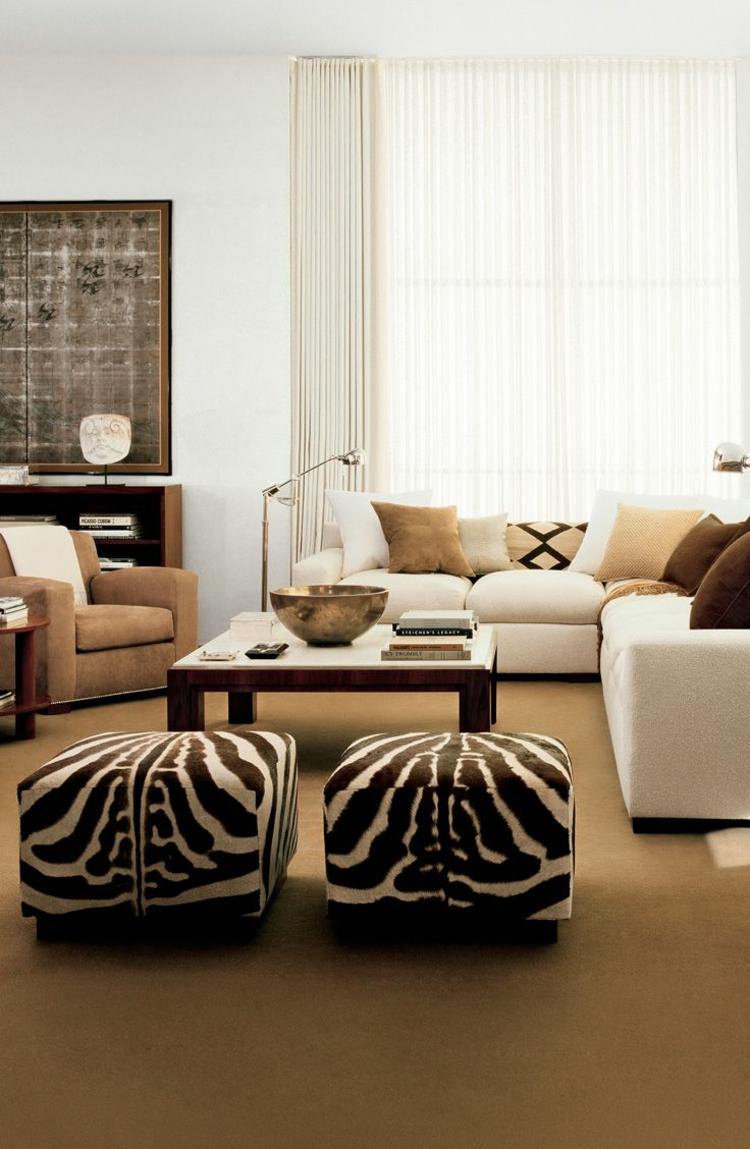 Анималистичные принты на стенах и в интерьере интерьер и дизайн
