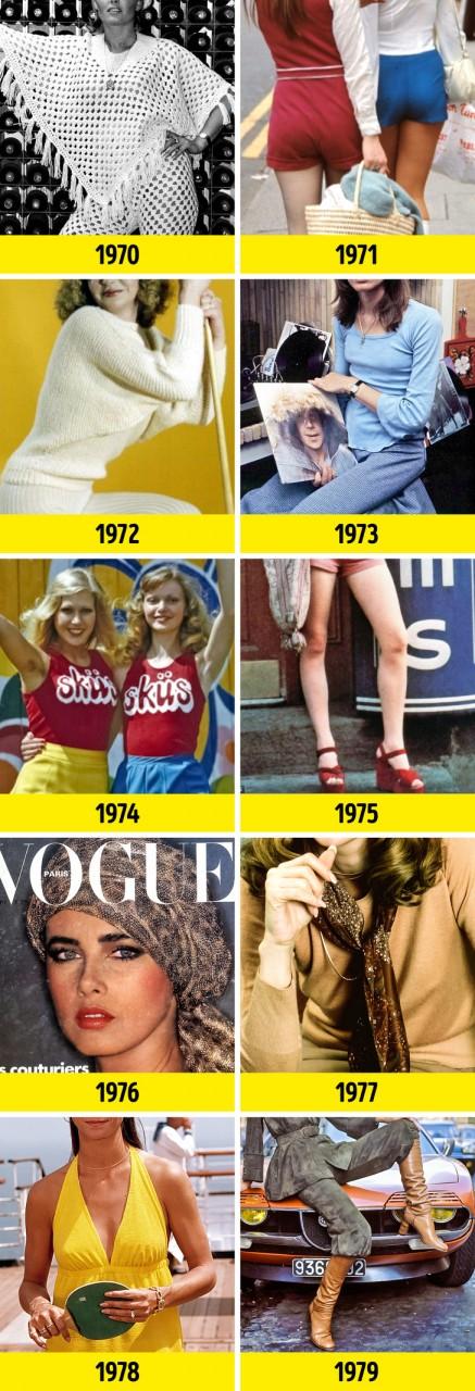 Мы узнали, что было в моде в год вашего рождения. Интересно, вы это когда-нибудь носили? лучшее