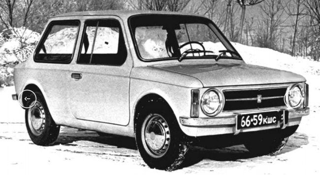 Отечественные легковушки ХХ века, о которых мало кто знает авто