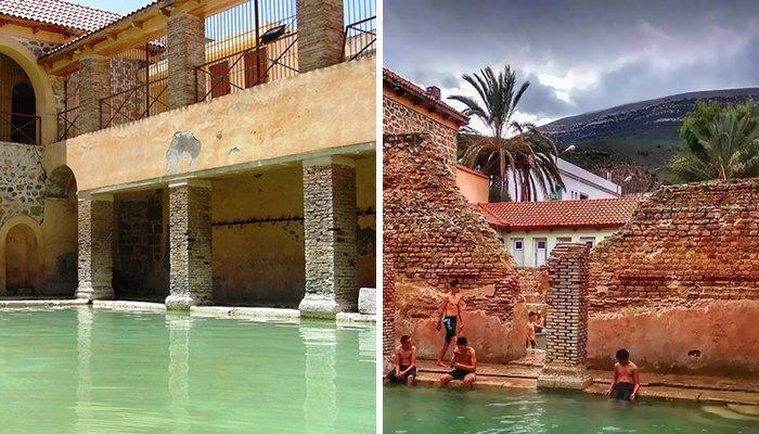Римские бани в Алжире, построенные 2000 лет назад, используются до сих пор
