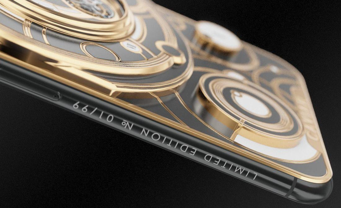 Дороже 16 тысяч рублей: Caviar выпустит 99 iPhone с турбийоном Caviar