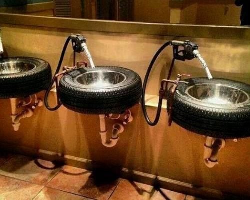 Неожиданные способы использования автомобильных покрышек юмор.