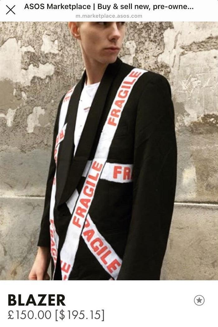 Парень оделся по-идиотски и убедил всех, что он — знаменитая модель