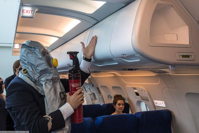 Как тренируют персонал Аэрофлота