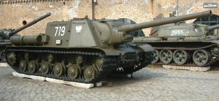 Кошмар вермахта: пушка ИСУ-122, которая работала по принципу «один выстрел – одна цель» военная техника