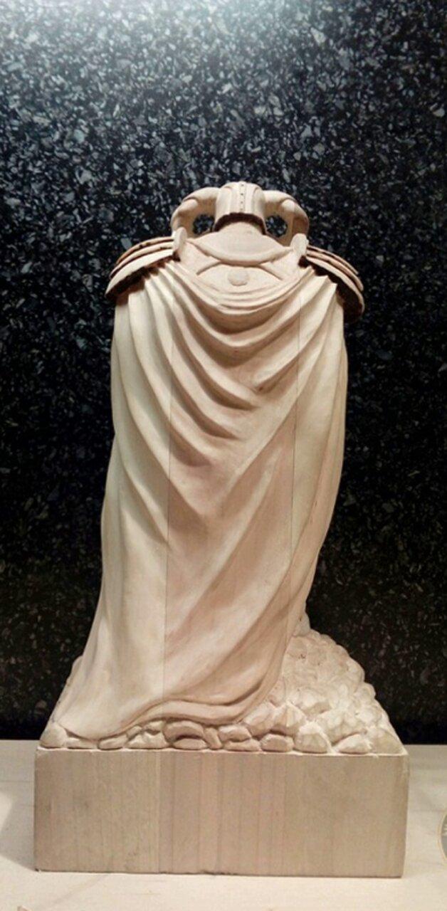 Создание фигурки из дерева в стиле фэнтези скульптура