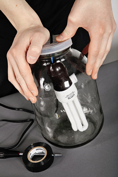 Необычный светильник своими руками сделай сам