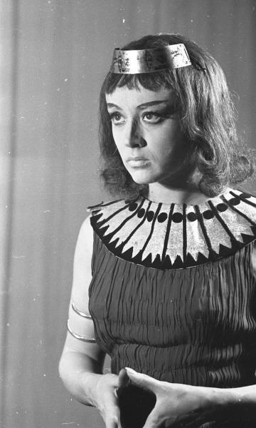 Маргарита Терехова в образе Клеопатры