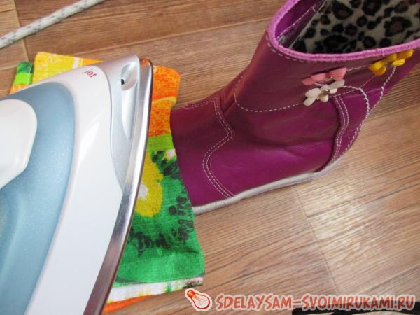 Способ увеличить размер кожаной обуви полезные советы