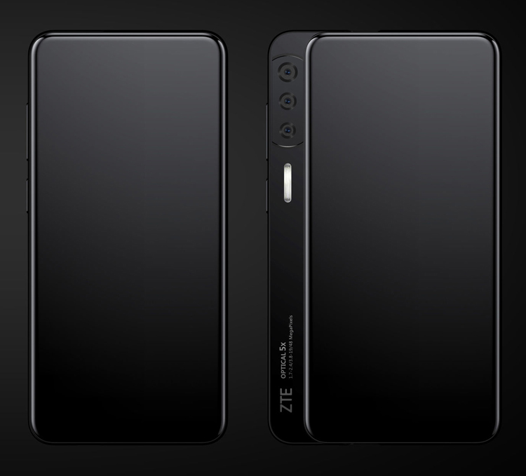 ZTE выпустит боковой слайдер Axon S с необычным дизайном и производительным «железом» новости