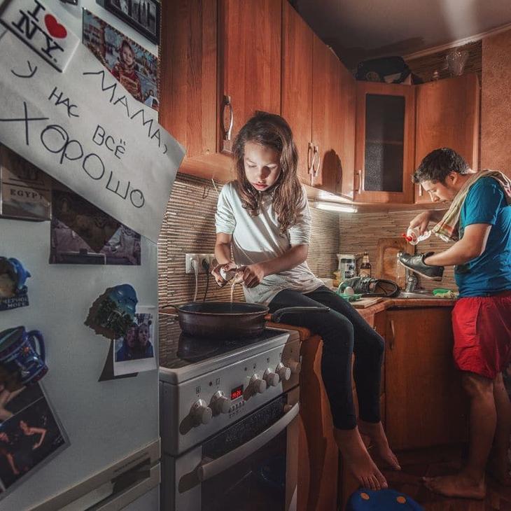 «Мама, у нас все хорошо»: папа и дочь сделали фотоотчет, от которого матери станет плохо воспитание