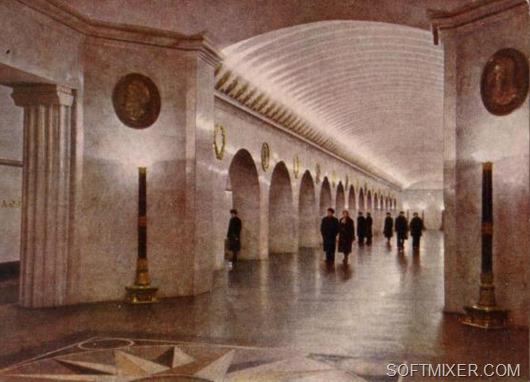 Ленинградское метро 1956-го