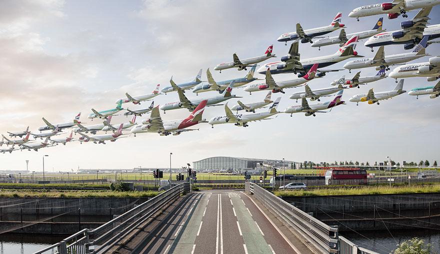 Транспортные потоки в аэропортах мира